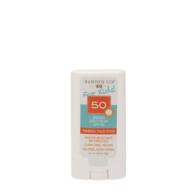 Hampton Sun SPF 50 Mineral Face Stick for Kids