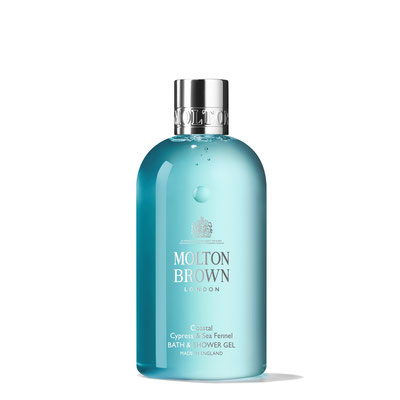 Molton Brown Coastal Cypress & Sea Fennel Bath & Shower Gel (50ml, 100ml, 300ml, 5l)