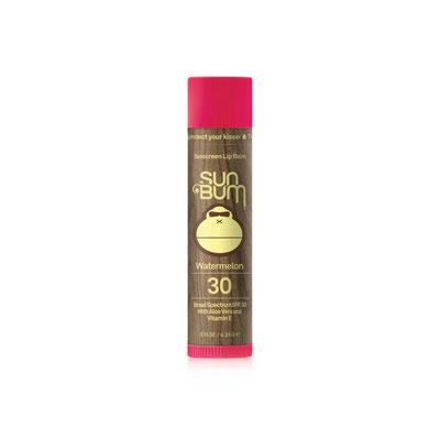 SunBum Original SPF 30 Sunscreen Lip Balm - Watermelon