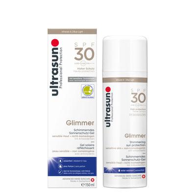 Ultrasun 30 Glimmer - 150ml