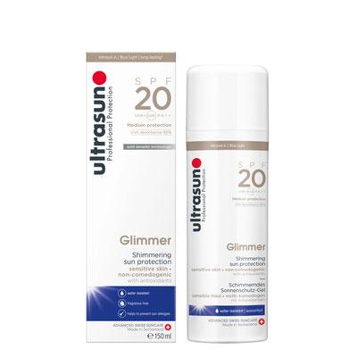 Ultrasun 20 Glimmer - 150ml