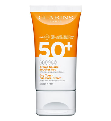 Clarins Dry Touch Facial Sun Care UVA/UVB 50+