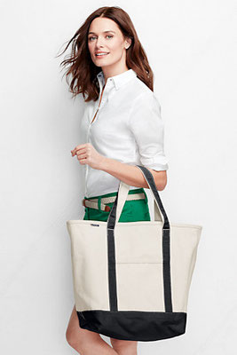 Strong Branded Canvas Tote Bags for the Beach