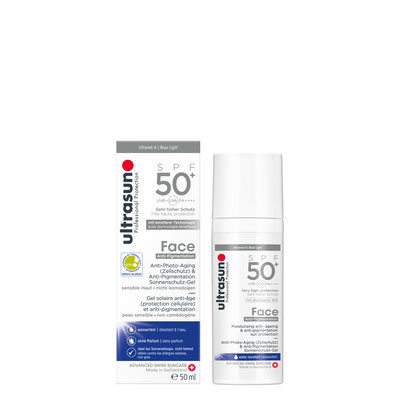 Ultrasun Anti-Pigmentation Face 50+ - 50ml