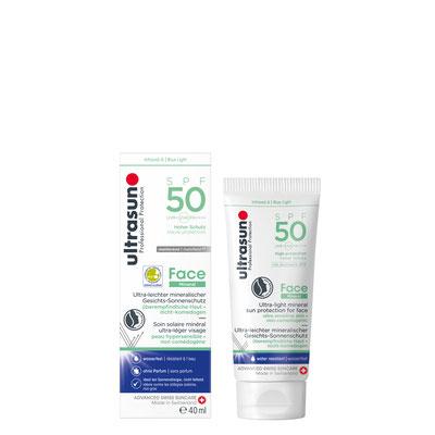 Ultrasun Mineral Face 50