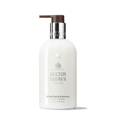 Molton  Brown  Serene Coco & Sandalwood Body Lotion (50ml, 100ml, 300ml, 5l)