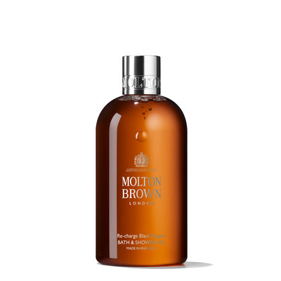 Molton Brown Re-charge Black Pepper Bath & Shower Gel  (50ml, 100ml, 300ml, 5l)