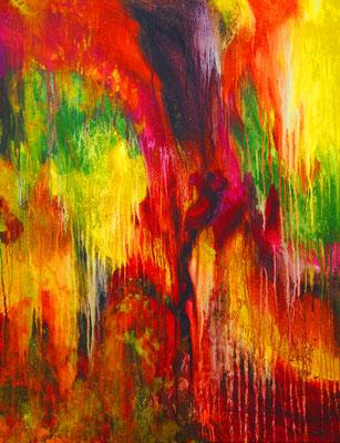 Ohne Titel Nr. 269.1, 80x100 cm, Acryl auf Leinwand