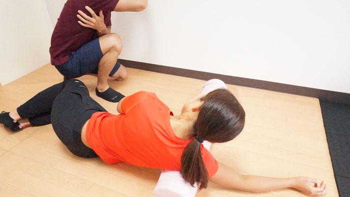 ご自宅でのトレーニングやストレッチ方法をご案内いたします。