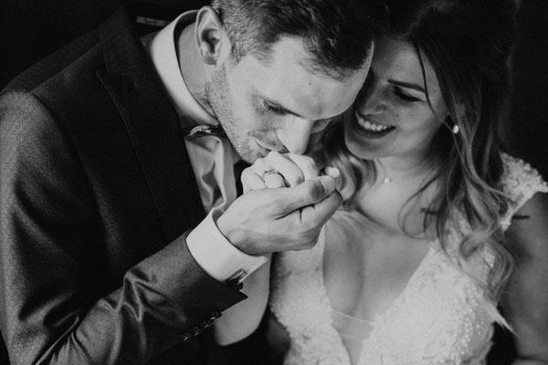 Heiraten in Oberstdorf - Blauer Salon - Alpe Dornach - Berghochzeit - Heiraten im Allgäu