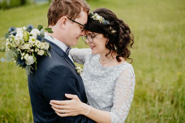 Brautpaarshooting - Heiraten im Allgäu - Paarshooting - Allgäuwedding - Freie Trauung Allgäu - Elopement Allgäu - Berghochzeit