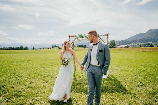 Heiraten im Allgäu - Berghochzeit - Vintage Wedding - Burgberg - Heiratenaufdemberg