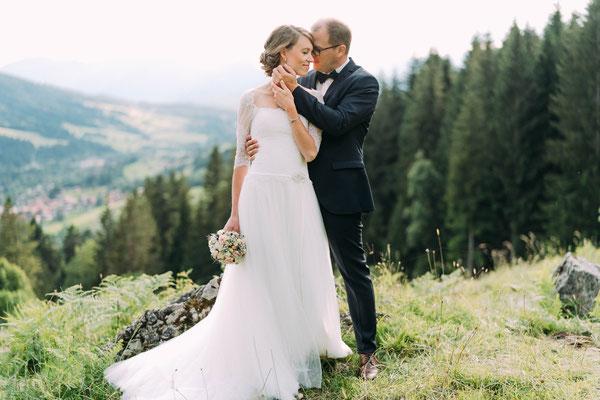 Heiraten im Allgäu - After Wedding Shooting auf dem Nebelhorn - Fotografie im Allgäu