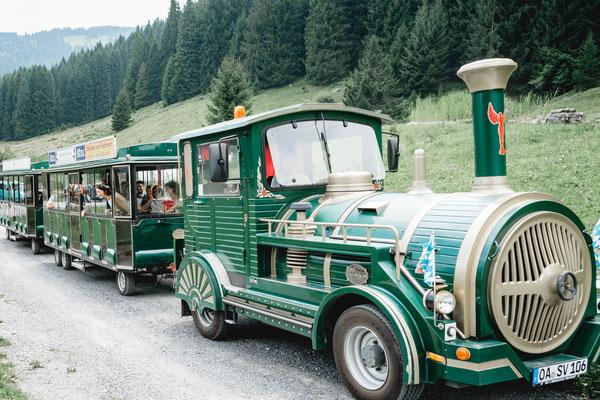 Heiraten im Allgäu - Oberstdorf Bähnle