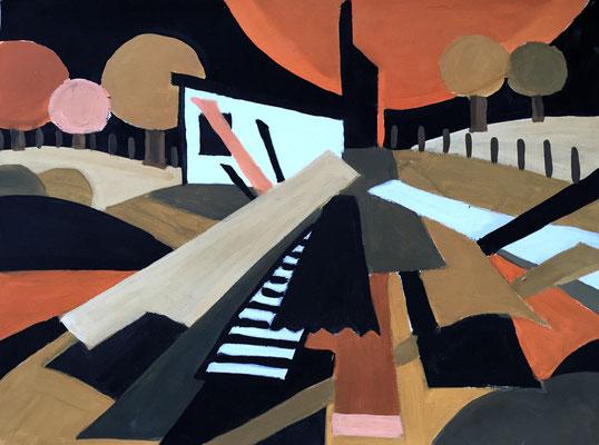 Temperamalerei, Michaela Nieke