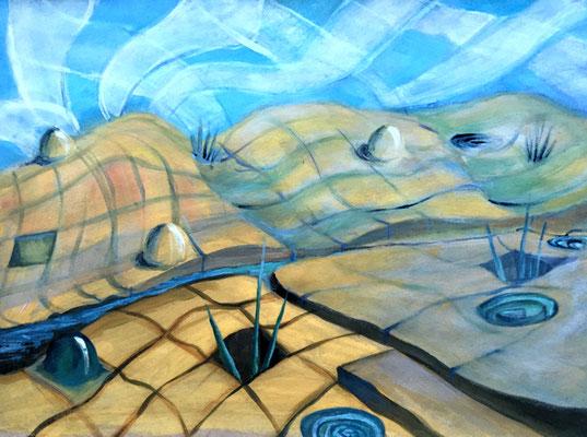 Ölmalerei, Michaela Nieke