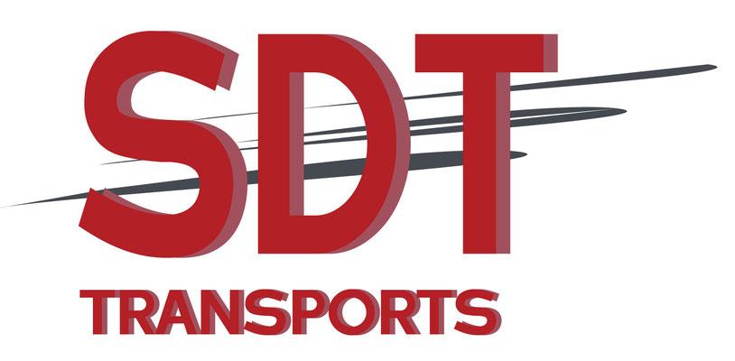 Création du logo de la société SDT transports