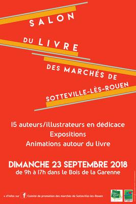 Affiche du salon du livre 2018
