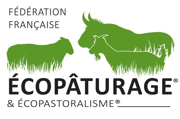 Logo de la Fédération française d'écopâturage
