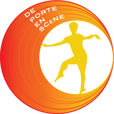 Logo de la compagnie de Portes en scène