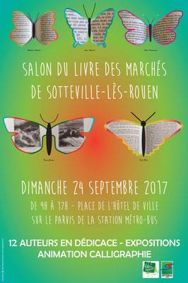 Affiche salon du livre 2017