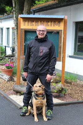 Carsten Franke, Tierpflege Hundebereich