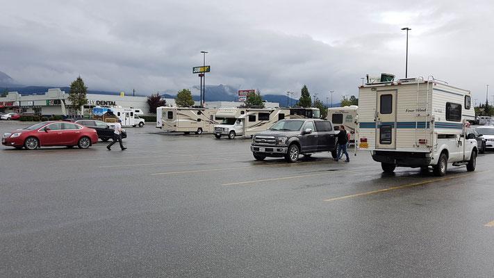 Parkplatz Walmart Anchorage