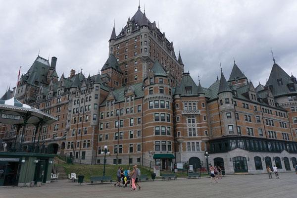 Fairmont Hotel in Quebec