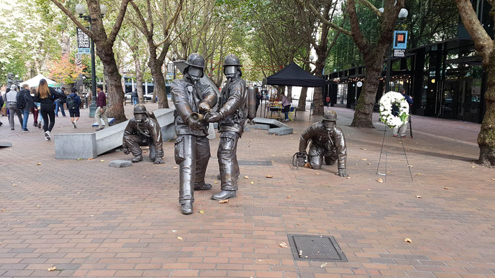 Denkmal für Feuerwehrleute