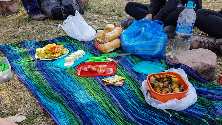 Unser Mittags-Picnic