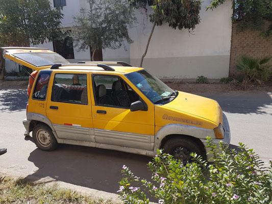 sie hatten nur so winzige Taxis :)