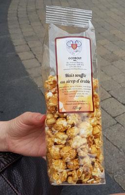 Ahornsirup Popcorn