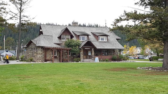 Visitor Center in Jasper