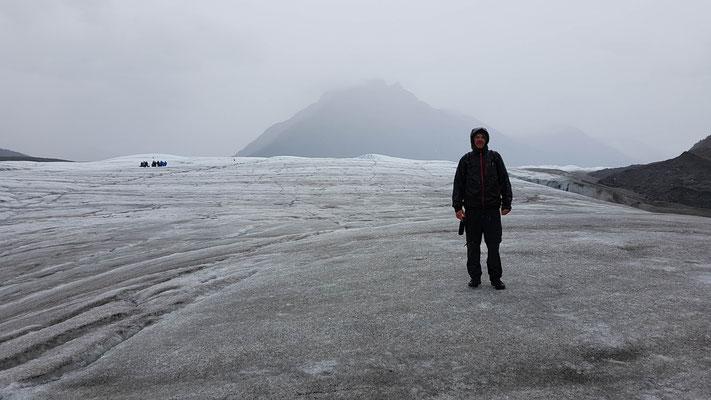 Dani auf dem Gletscher