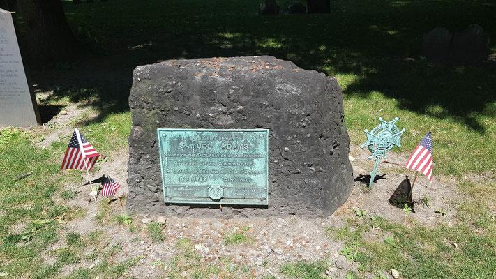 Grab von Samuel Adams