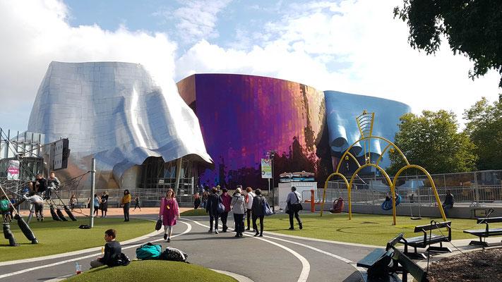 Museum of Pop Culture. Der Besuch hat sich sehr gelohnt!