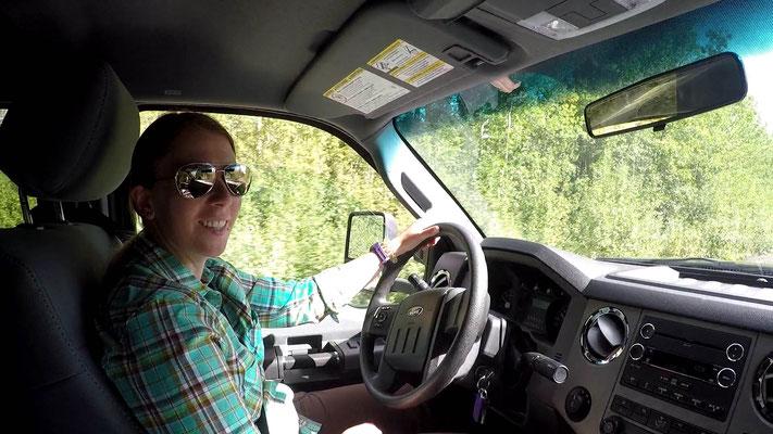 Truck fahren macht Spass:)