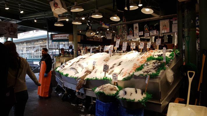 Frischer Fisch.... so sah es auf jeden Fall aus