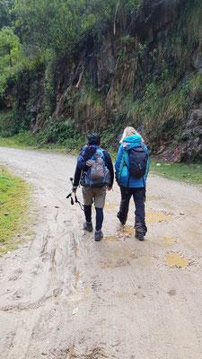 Lea und unser Guide