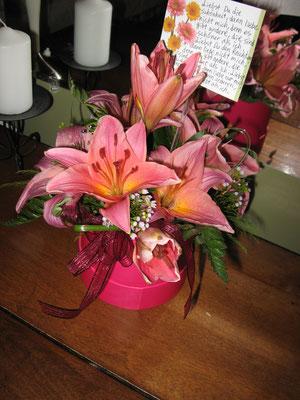 Die besagte Blumenlieferung