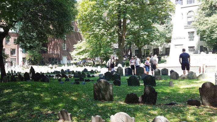 Friedhof auf dem Samuel Adams begraben ist