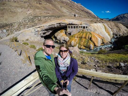 Altes Thermalbad der Inkas