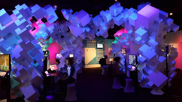 Game Room im Museum of Pop Culture
