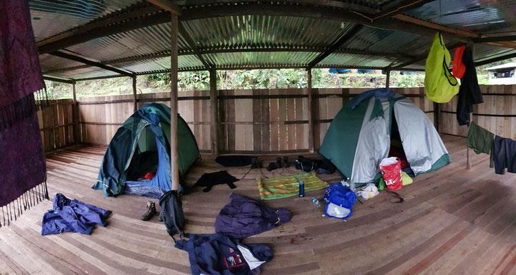 Unsere komfortable Unterkunft