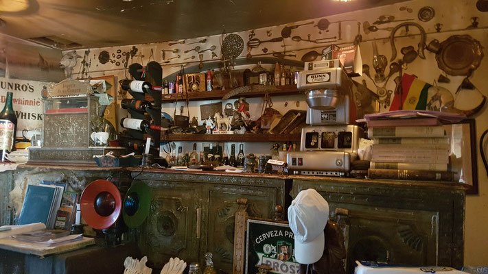 Cooles Restaurant in La Paz