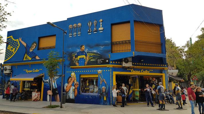 Fanshop Boca Juniors