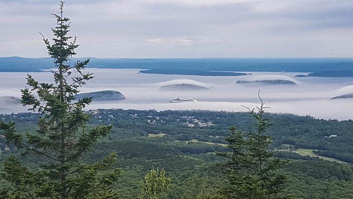 Herrliche Aussicht vom Cadillac Mountain