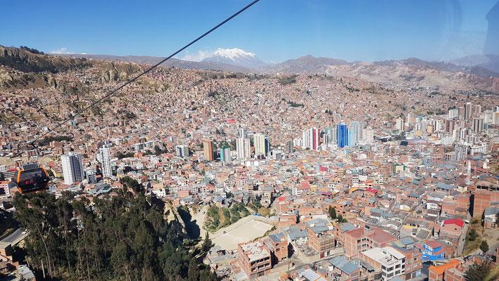 Sicht auf La Paz