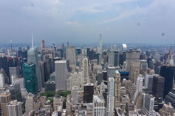 Aussicht vom Empire State Building