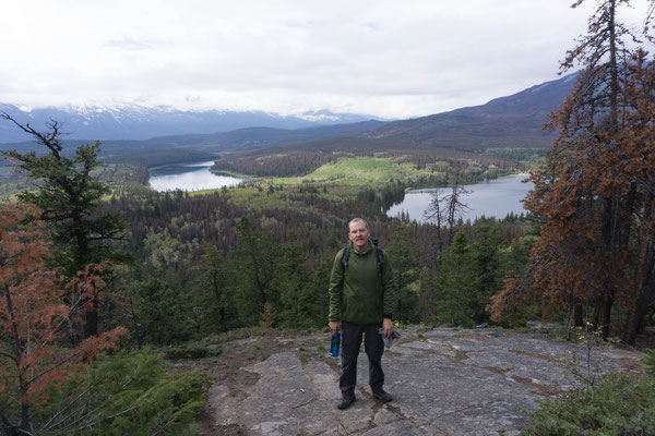 Wanderung im Jasper NP